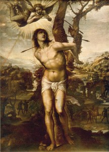 Saint sébastien - Saint patron des archers