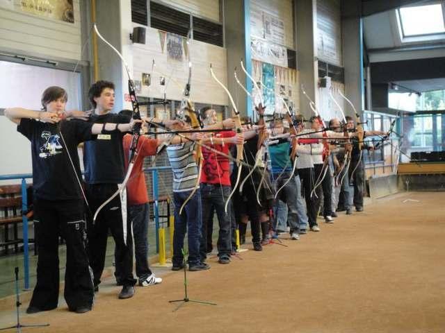 entrainement archers du drac