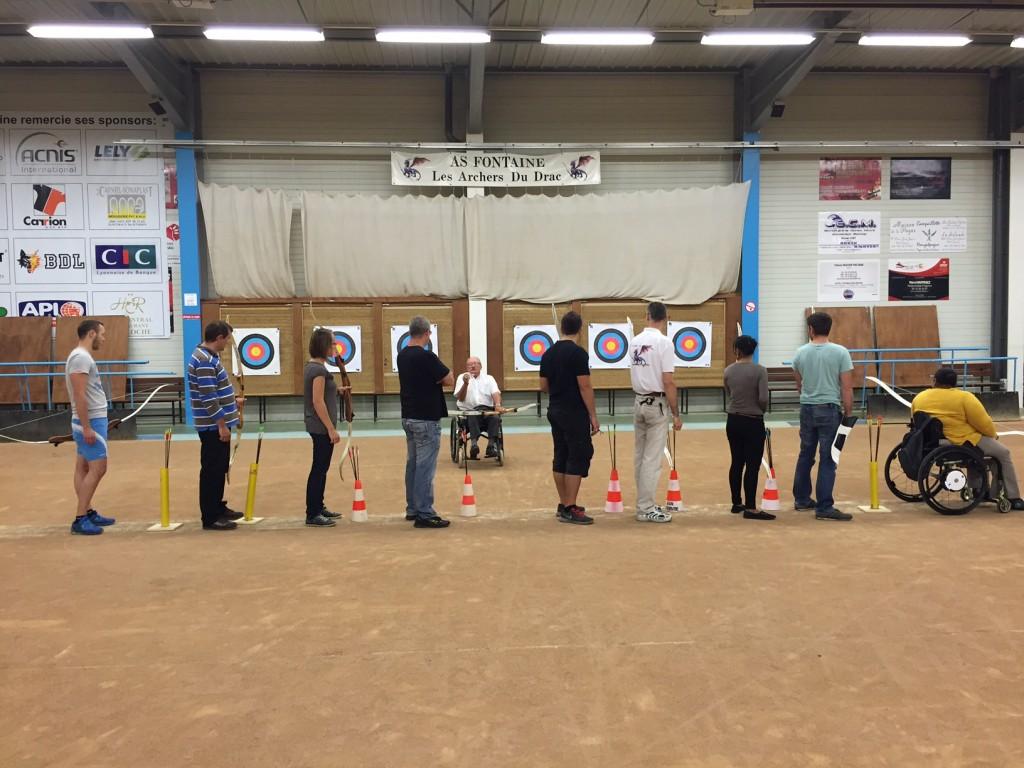 Les Archers du Drac 2015